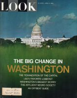 Look Magazine, April 6, 1965 – The Capital building, the White House, Washington