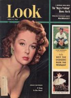Look Magazine, April 8, 1952 - Gorgeous photo of Susan Hayward