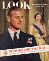 Look Magazine, April 6, 1954 - Duke of Edinburgh and Queen Elizabeth