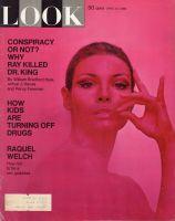 Look Magazine, April 15, 1969 - Raquel Welch