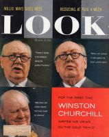 "Look Magazine, April 29, 1958 - Winston Churchill writes about the cold ""peace."""
