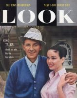 Look Magazine, May 13, 1958 - Bing Crosby and his new, young wife, 30 years younger