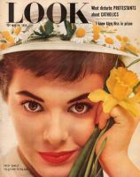 Look Magazine, May 18, 1954 - Patsy Shally, the girl with the big eyes