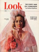 Look Magazine, May 24, 1949 - Pink bride (not named)