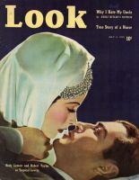 Look Magazine, July 4, 1939 - Hedy Lamarr and Robert Taylor