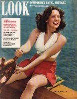 Look Magazine, July 16, 1940 - Linda Darnell on Sailboat