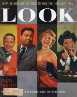 Look Magazine, September 16, 1958 - Garry Moore, Jackie Gleason, Dinah Shore, James Garner