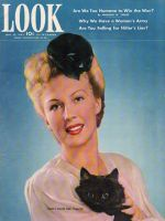 Look Magazine, September 22, 1942 - Sheila Johnson from the Conover Agency