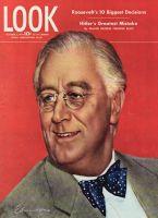 Look Magazine, October 3, 1944 - President Roosevelt, art by Carolyn Edmundson