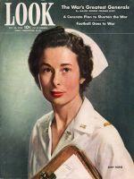 Look Magazine, October 20, 1942 - Army Nurse Mildred Minns