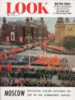 Look Magazine, November 3, 1953 - Public spectacle in Moscow, feature on life in communist capital