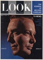 Look Magazine, November 7, 1961 - Chet Huntley and David Brinkley