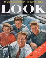 Look Magazine, November 11, 1958 - Harriet Nelson