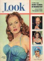 Look Magazine, November 20, 1951 - Maureen O'Hara as a pirate in skirts