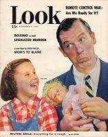 Look Magazine, November 21, 1950 - Milton Berle and his daughter Vicki Berle