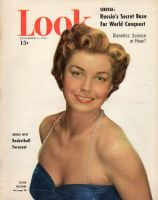 Look Magazine, December 5, 1950 - Esther Williams in an evening gown, lovely photo