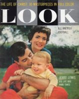 Look Magazine, December 23, 1958 - Jerry Lewis, wife and child