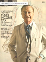 Look Magazine, March 23, 1971 - Marcus Welby