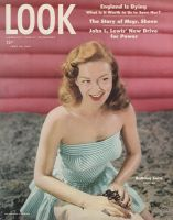 Look Magazine, June 24, 1947 - Bathing beauty Hannah Jonas photo by Bob Sandberg