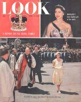 Look Magazine, April 19, 1955 - Queen Elizabeth