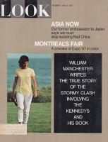 Look Magazine, April 4, 1967 - Jacqueline Kennedy