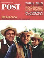 Saturday Evening Post, December 4, 1965 - Bonanza Actors