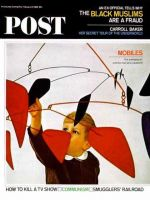Saturday Evening Post, February 27, 1965 - Child & Calder Mobile