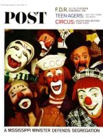 Saturday Evening Post, April 10, 1965 - Ringling Clowns
