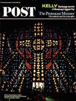 Saturday Evening Post, April 24, 1965 - Stained Glass Window