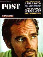 Saturday Evening Post, July 3, 1965 - Charlton Heston in