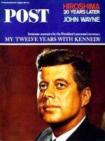 Saturday Evening Post, August 14, 1965 - President John F. Kennedy