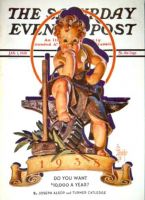 Saturday Evening Post, January 1, 1938 - Baby New Year at Forge