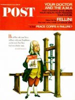 Saturday Evening Post,  January 1, 1966 - Franklin Prints the POST