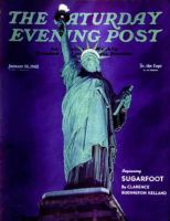 Saturday Evening Post, January 10, 1942 - Statue of Liberty