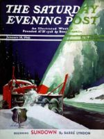 Saturday Evening Post,  January 18, 1941 - Highway Snowplow