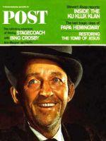 Saturday Evening Post, April 9, 1966 - Bing Crosby in