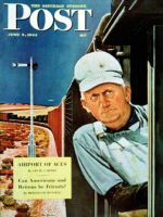 Saturday Evening Post, June 3, 1944 - Freight Train Engineer