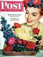 Saturday Evening Post, June 5, 1943 - Arranging Flowers