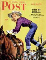 Saturday Evening Post, June 20, 1942 - Woman at Dude Rance