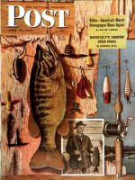 Saturday Evening Post, June 29, 1946 - Fishing Still Life