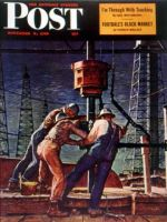 Saturday Evening Post, November 9, 1946 - Drilling for Oil