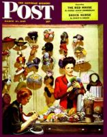 Saturday Evening Post, March 10, 1945 - Millinery Shop