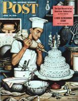 Saturday Evening Post, June 16, 1945 - Icing the Wedding Cake