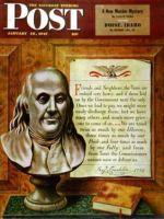 Saturday Evening Post,  January 18, 1947 - Benjamin Franklin, 1947