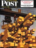 Saturday Evening Post, April 10, 1948 - Oregon Sawmill & Lumberyard
