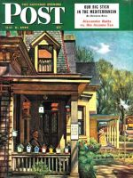 Saturday Evening Post, May 8, 1948 - Birdhouse Builder