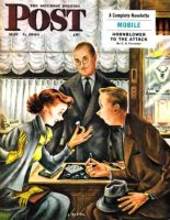 Saturday Evening Post, May 7, 1949 - Engagement Ring