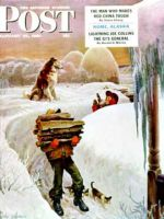 Saturday Evening Post, January 27, 1951 - Gathering Wood