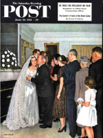 Saturday Evening Post,  June 16, 1951 - Receptions Line