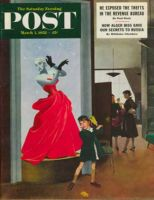 Saturday Evening Post, March 1, 1952 - Mannequin